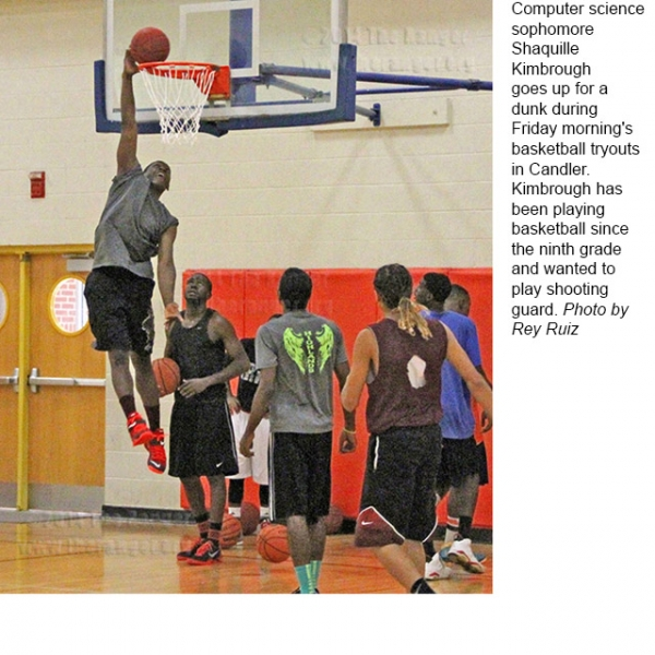 Men's Basketball Tryouts