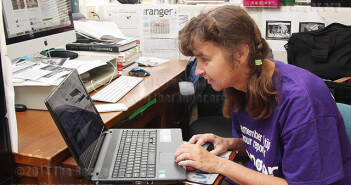Illustrator Alexandra Nelipa builds the redesigned Ranger Online from scratch in Word Press July 3.